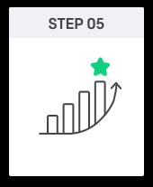 step5 그래프가 올라가는 이미지(매출이 상승하는 의미)